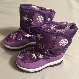 Toddler Girl Snow Boots (sz 5)